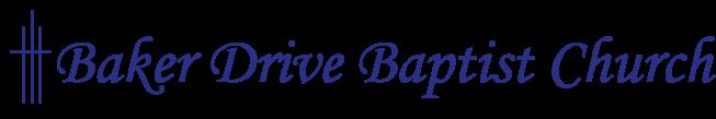 Baker Drive Baptist Church